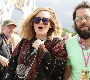 Adele and husband Simon Konecki announced they were separating in April and said they are 'committed to raising their son together lovingly'(Yui Mok/PA)