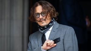 Actor Johnny Depp arrives at the High Court (Aaron Chown/PA)