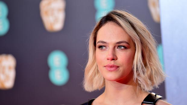 Jessica Brown Findlay attending the EE British Academy Film Awards (Dominic Lipinski/PA)