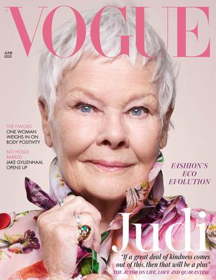 Dame Judi Dench on the cover of British Vogue (Vogue/Nick Knight/PA)