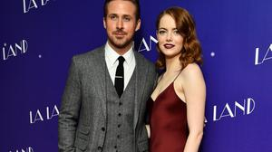 La La Land actors Ryan Gosling, left, and Emma Stone, who perform City Of Stars from the soundtrack