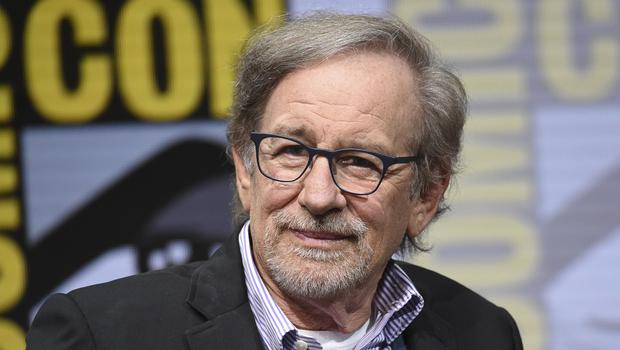 Steven Spielberg at Comic-Con (Richard Shotwell/AP)