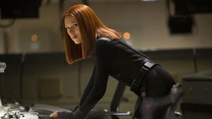 Scarlett Johansson played the Black Widow in Captain America: The Winter Soldier (Marvel)