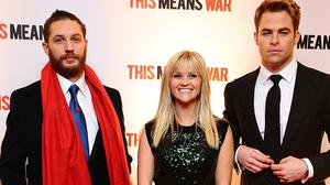 Tom Hardy starred with Reese Witherspoon and Chris Pine in rom-com This Means War