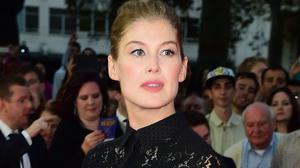 Rosamund Pike says it was a challenge auditioning for Gone Girl while filming a family comedy