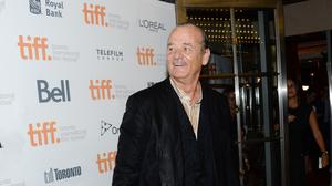 Bill Murray arrives at the St Vincent premiere during the Toronto International Film Festival (AP)