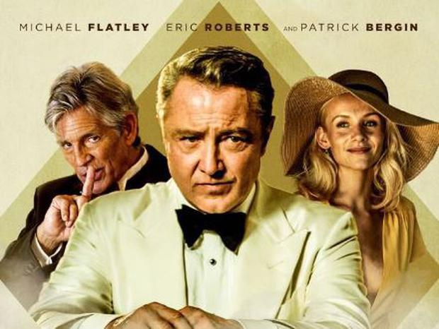 Michael Flatley in the poster for Blackbird