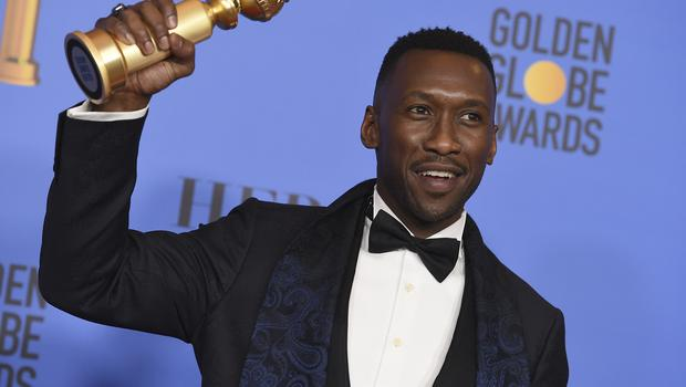 Mahershala Ali won a Golden Globe for his role in Green Book (Jordan Strauss/Invision/AP)