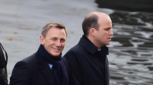 Daniel Craig (left) is to appear as James Bond in a Comic Relief sketch