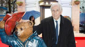 Paddington Bear author Michael Bond at the premiere of the new movie adaptation of his marmalade-loving creation