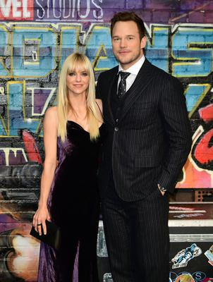Chris Pratt and Anna Faris have finalised their divorce and agreed joint custody of their son (Ian West/PA)