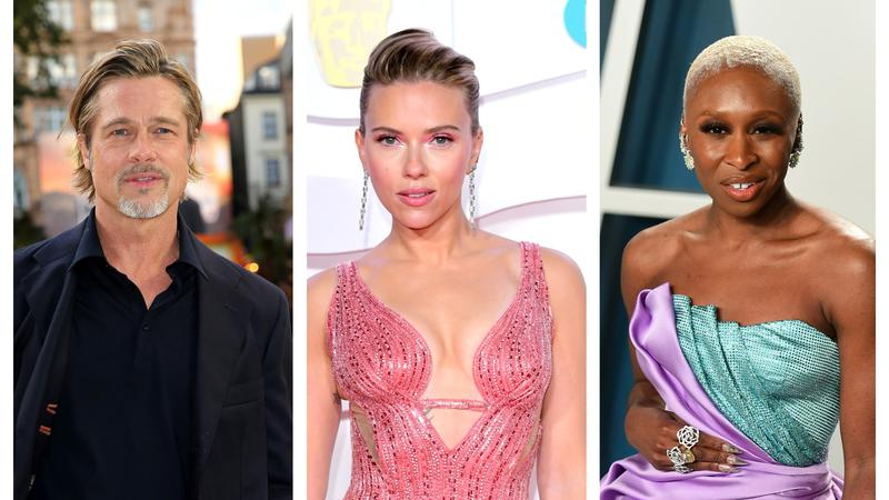 Brad Pitt, Scarlett Johansson and Cynthia Erivo urge US voter registration