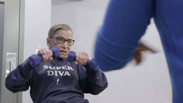Ruth Bader Ginsburg's life and career is the focus of an Oscar-nominated documentary (Magnolia Pictures/CNN Films/PA)