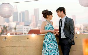 Zooey Deschanel charms Joesph Gordon-Levitt in '500 days of Summer'.