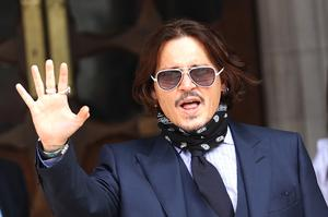 Actor Johnny Depp arrives at the High Court in London (Yui Mok/PA)
