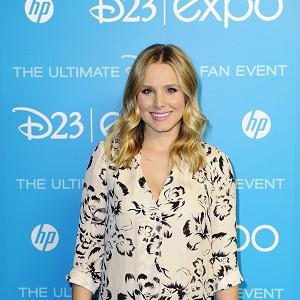Kristen Bell provides the voice for Anna in Frozen