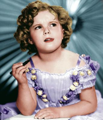 Shirley Temple: solls, books and games were named after her in a merchandising campaign matched only by Walt Disney and Mickey Mouse.