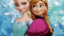 Frozen sisters: Elsa and Anna.
