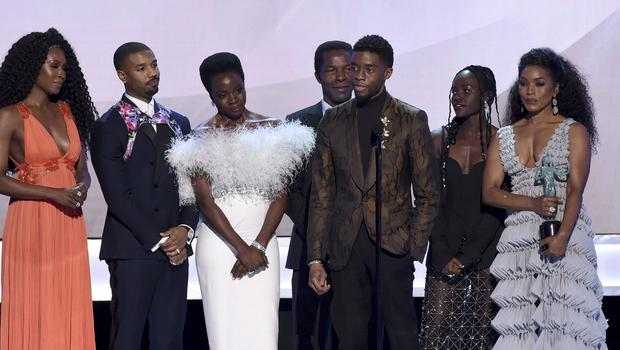 The cast of Black Panther (Richard Shotwell/Invision/AP)