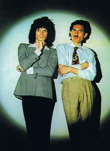 Russell and Ron Mael of Sparks in the 1970s