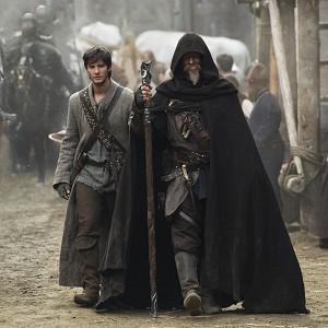 Ben Barnes, left, as Tom Ward and Jeff Bridges as Master Gregory in Seventh Son (AP/Warner Bros Pictures, Kimberley French)