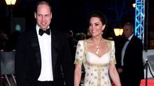 The Duke and Duchess of Cambridge attending the 73rd British Academy Film Awards at the Royal Albert Hall in London (Matt Crossick/PA)