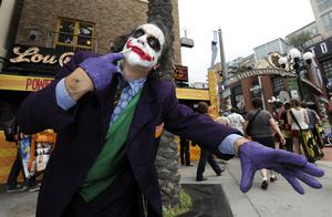 San Diego Comic-Con usually attracts the masses to Southern California but the physical event was cancelled this year (Denis Poroy/Invision/AP)