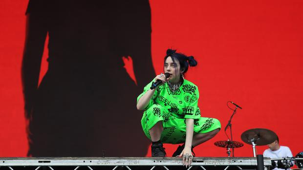 Billie Eilish becomes youngest artist to record Bond theme (Owen Humphreys/PA)