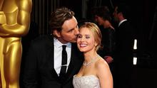 Dax Shepard and wife Kristen Bell at the 2014 Academy Awards