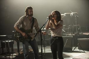 Lady Gaga and Bradley Cooper in A Star Is Born (Neal Preston/Warner Bros.)
