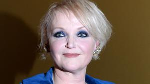 Miranda Richardson accepted the Dilys Powell award for excellence in film at the London Critics' Circle Awards