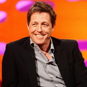 Actor Hugh Grant has become a father for the second time