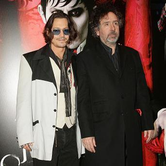 Johnny Depp and Tim Burton have worked together several times