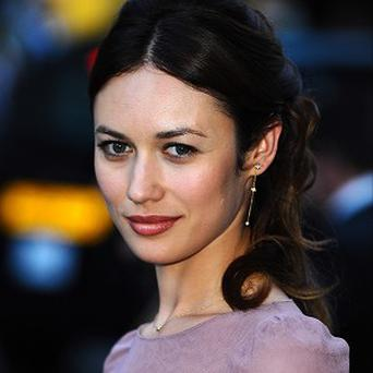 Olga Kurylenko shot to fame as a Bond girl