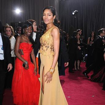 Naomie Harris plays Bond girl Miss Moneypenny in Skyfall