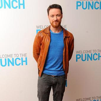 James McAvoy is impressed by the star-studded X-Men cast