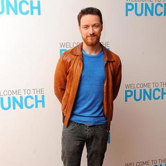 James McAvoy said he's planning to 'disappear' again soon