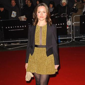 Zoe Tapper starred in Blood with Stephen Graham