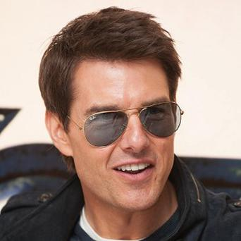 Tom Cruise has joined a Russian social network to promote his new film Oblivion