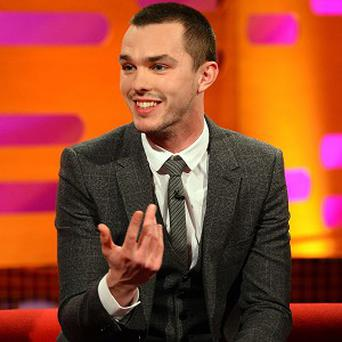 Nicholas Hoult says there is a certain pressure in being a leading man