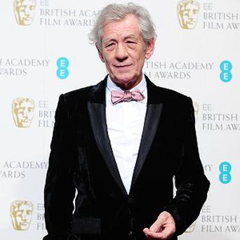 Sir Ian McKellen starred as Gandalf in The Lord of the Rings