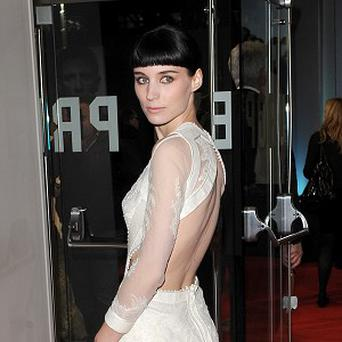 Rooney Mara starred in The Girl With The Dragon Tattoo