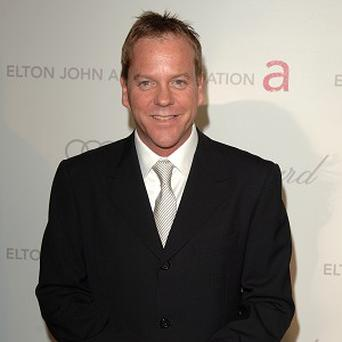 Kiefer Sutherland is set to star with his father in a film