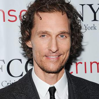 Matthew McConaughey credits his wife for his recent big screen success