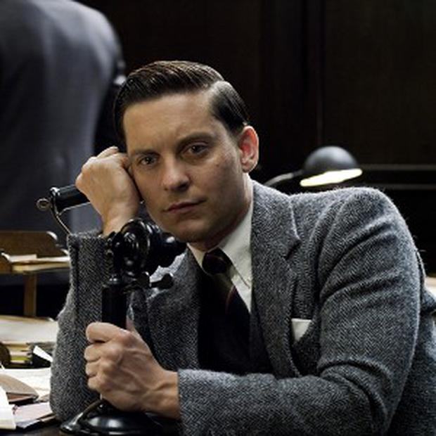 Tobey Maguire stars as Nick Carraway in The Great Gatsby