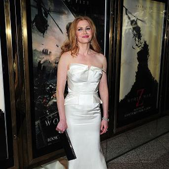 Mireille Enos enjoyed her first zombie movie experience