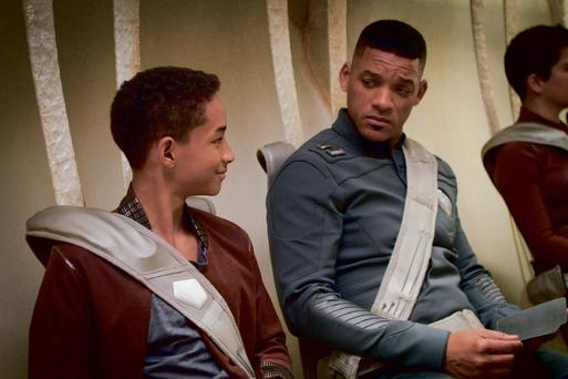 Will Smith and his son Jaden star in sci fi thriller After Earth