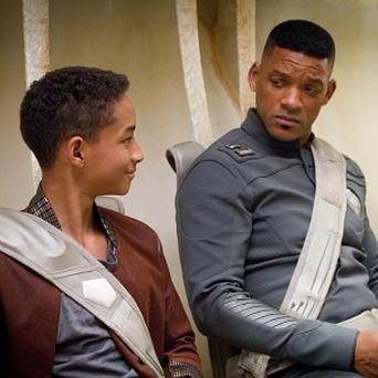 Will and Jaden Smith star in M Night Shyamalan's After Earth