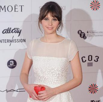 Felicity Jones had to practise her piano skills for her latest film role