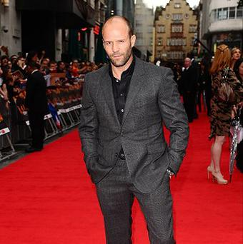 Jason Statham says Sylvester Stallone is a 'legend'